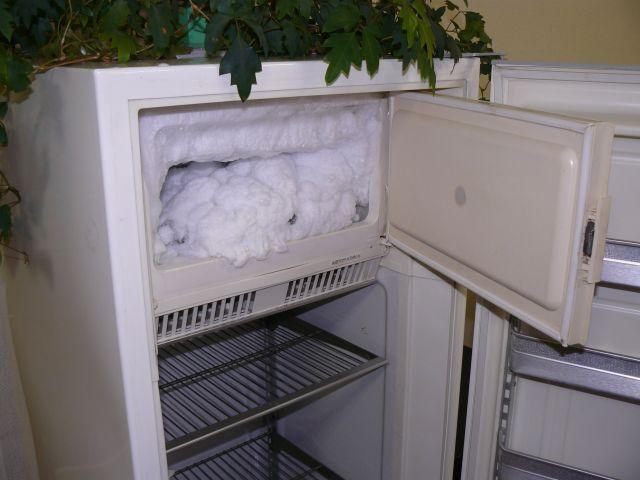 как размораживать холодильник веко Джо