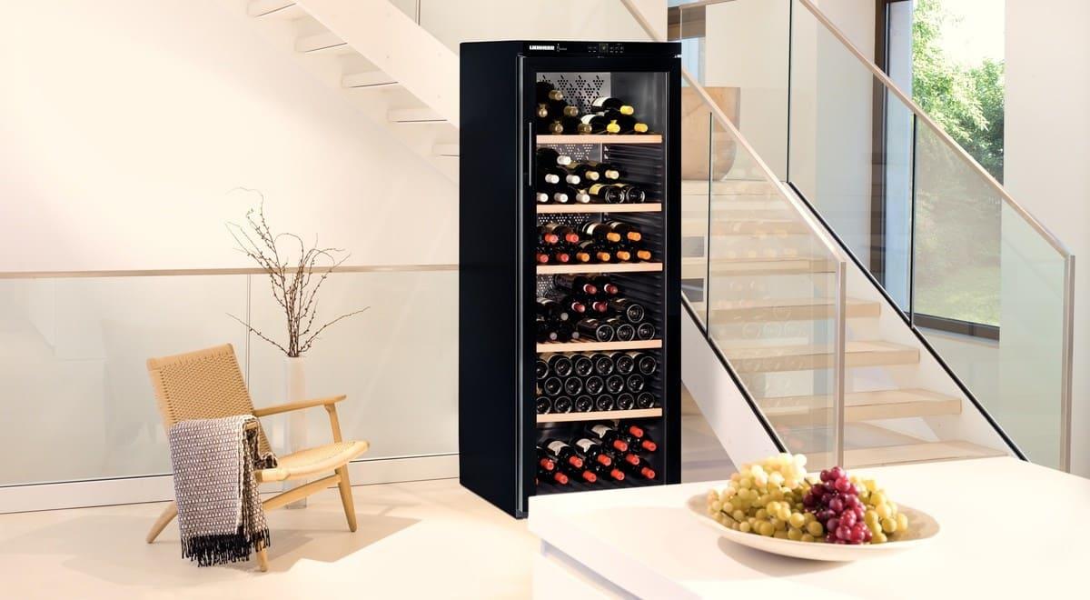 Отдельно стоящие винные холодильники