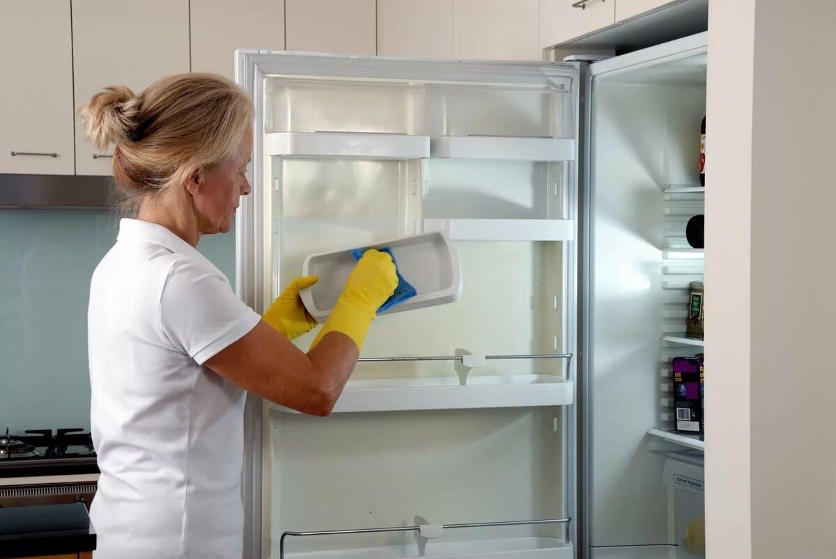 Подготовка холодильника к мытью