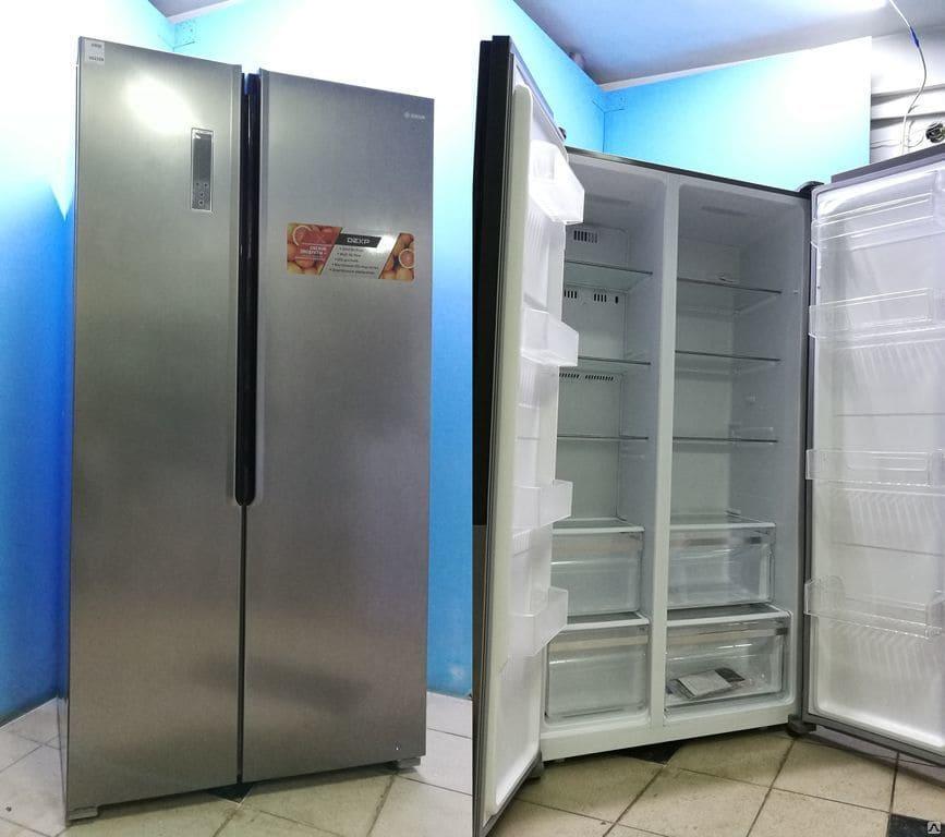Распашные холодильники Side by Side Dexp