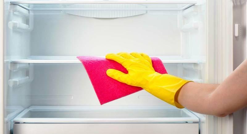 как правильно помыть холодильник