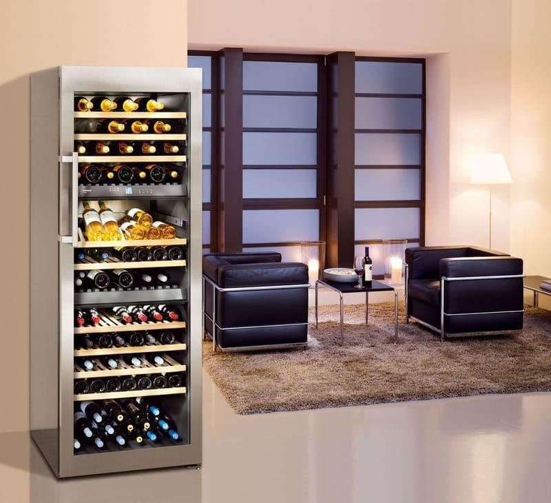 холодильники для вина Liebherr
