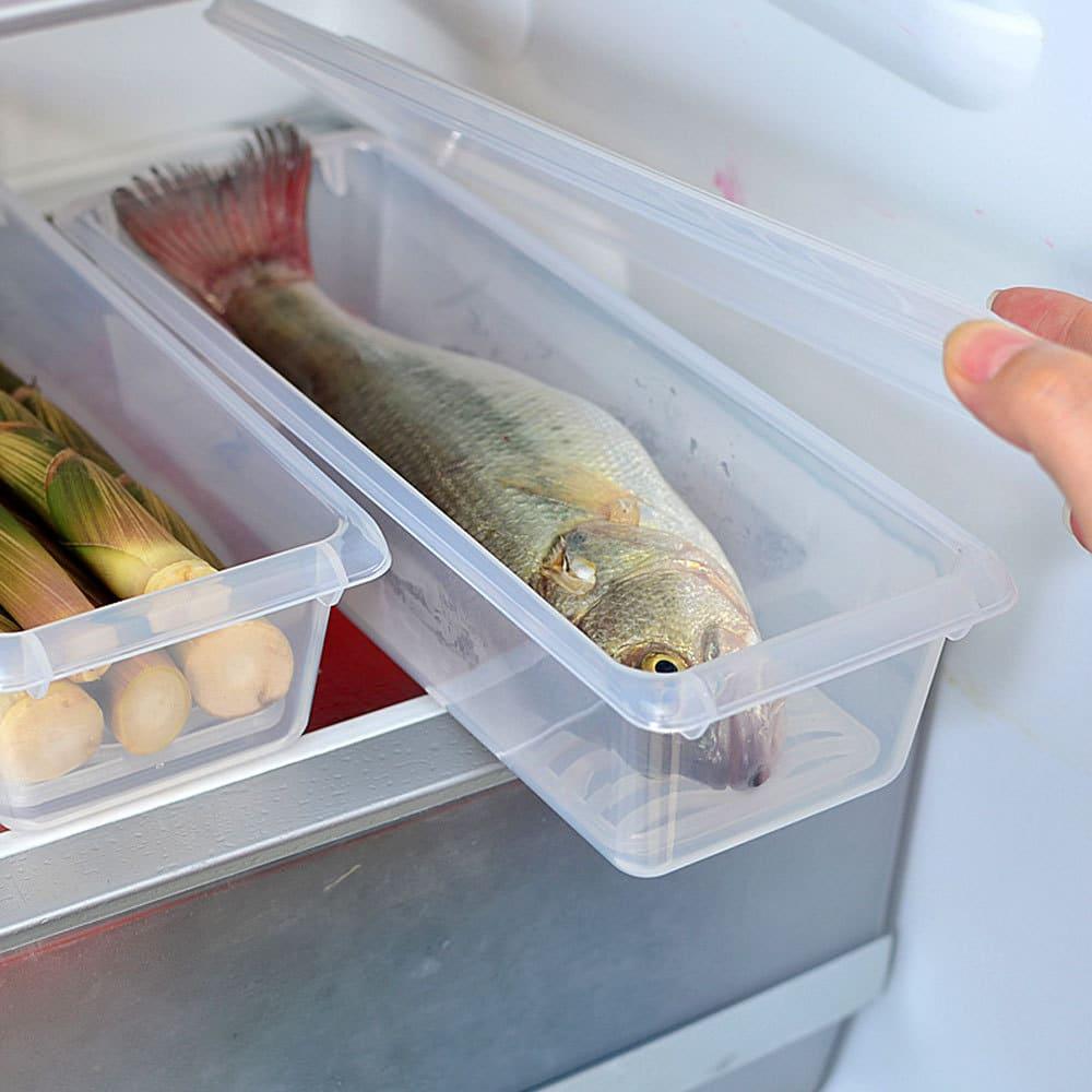 Хранение рыбы на полке в холодильнике