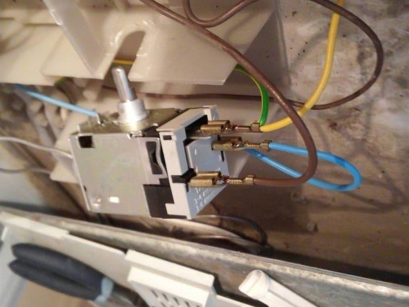 аналоговый Терморегулятор холодильника