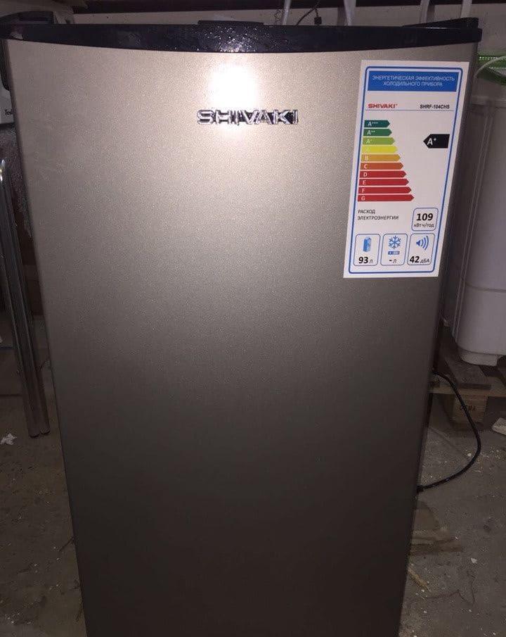 холодильник Shivaki CHRF-104CHS